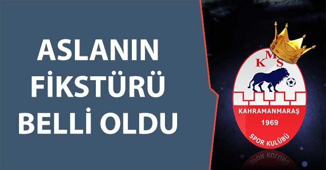 ASLANIN FİKSTÜRÜ BELLİ OLDU