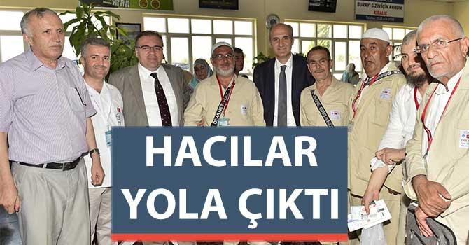 HACILAR YOLA ÇIKTI