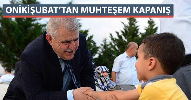 ONİKİŞUBAT'TAN MUHTEŞEM KAPANIŞ